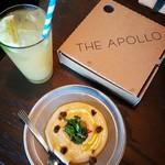 THE APOLLO - イエローエンドウ豆のディップと、ピタパン(昼のコース料理)