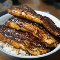 田代 - 料理写真:鰻丼(上・3800円)