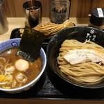 60794351 - 味玉つけ麺・納豆増し(2016/12)