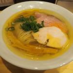 自家製麺 竜葵 - 塩そば780円