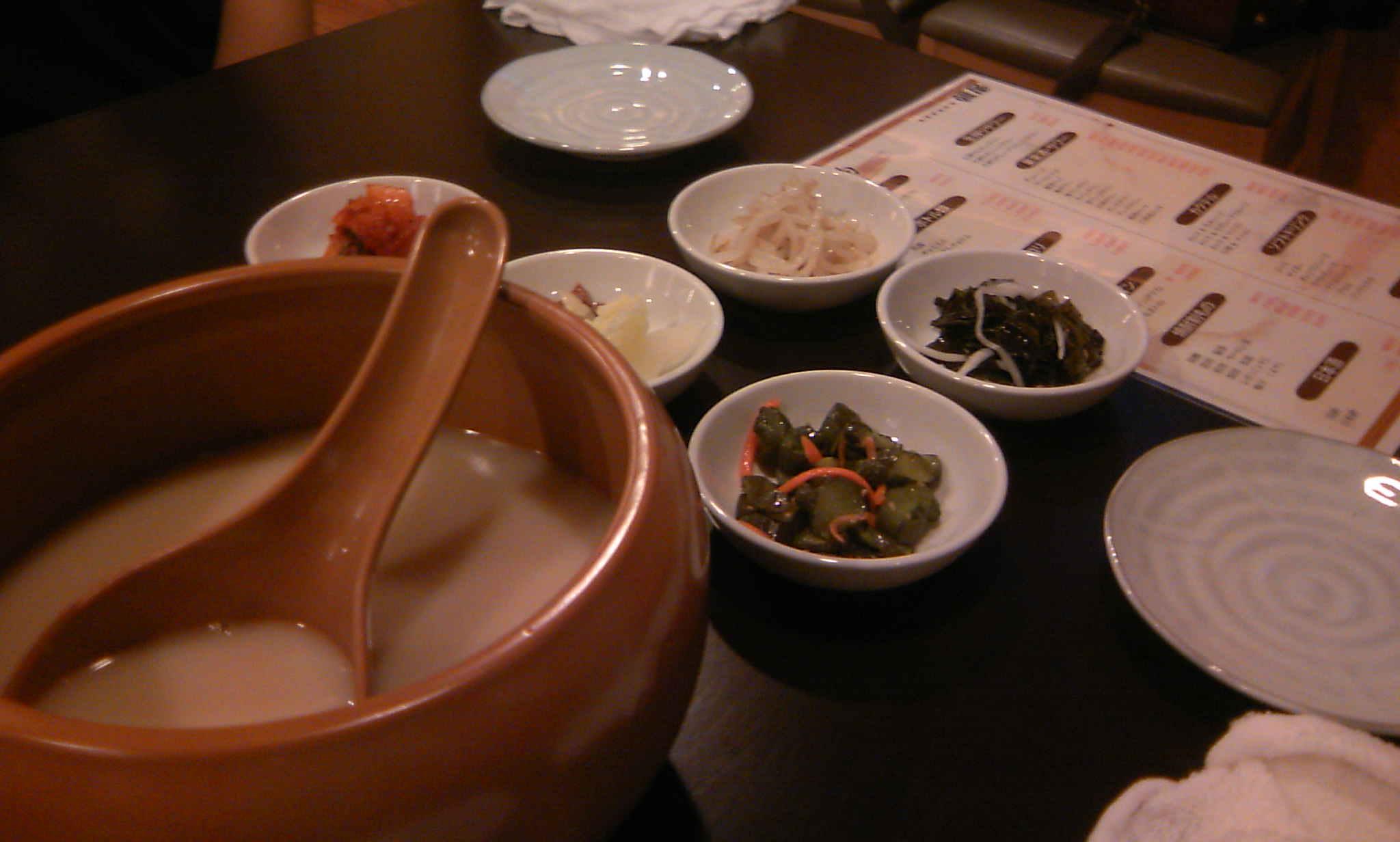 韓国家庭料理 韓屋