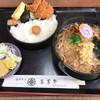 手打そば 三芳野 - 料理写真:三芳野定食