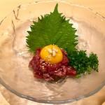 焼肉まさしげ - 和牛ユッケ 892円(税込)