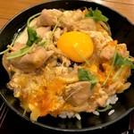 高田屋 - 地鶏の親子丼