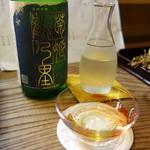 ふじ居 - 純米酒・菊姫鶴乃里