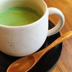 野菜とつぶつぶ アプサラカフェ - 抹茶ラテ ¥490