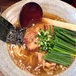 麺や 桜風 - 料理写真:小ネギラーメン¥850