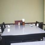 銀之塔 - テーブル席
