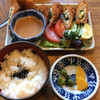 めんぼう壱久 - 料理写真:ささみチーズフライとライス 780円