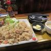 くう - 料理写真:ペッパーチキンのガーリックライス(小)