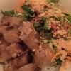 ミス・サイゴン - 料理写真:揚げ春巻き載せ麺 850円