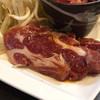 北海道料理 庵珠 - 料理写真:170105 肩ロース(ジンギスカン定食)
