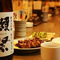 男吉の豊富な日本酒と焼酎果実酒はどれも室蘭やきとりと相性抜群