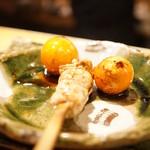 ヤキトリ みずき - ちょうちん(350円)
