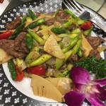 梅蘭 - 牛肉炒め