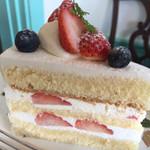 北浜レトロ - イチゴのショートケーキ