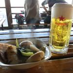 たぬきや - 生ビール 450円