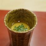 芝濱 - 茶碗蒸し