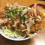 とんかつ吉乃家 - 塩カツ丼900円