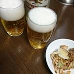 横浜らーめん 壱八家 - とりまビールくだしゃいな♡