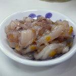 天ぷらひらお - イカの塩辛