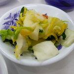 天ぷらひらお - 白菜