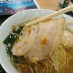 創彩麺家 野の実 - チャーシュー  アップ