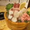 大衆酒場 天領屋 - 料理写真:鮮魚刺身の桶盛り(小)