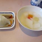 杏花楼 - 水餃子&杏仁豆腐