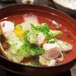 米とサーカス - 雉のお雑煮(2017.01)
