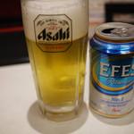 スターケバブ・アキバテラス - エフェスビール~☆