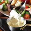 鉄板焼ビストロ よしむら - 料理写真:ディナー: チーズフォンデュ