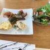 叶 匠寿庵 - 料理写真:おばんざいバイキングとサラダ
