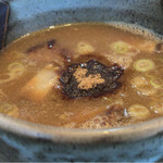 自己流ラーメン綿麺 - つけ麺のつけ汁