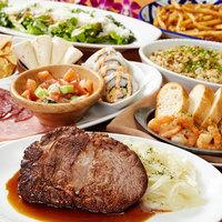 お肉たっぷりの宴会プランは飲み放題付き3500円から!