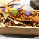 ツシミ - 安穏芋のカナッペ