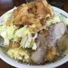 ラーメン二郎 - 料理写真:ミニラーメン+ニンニク+アブラ+ヤサイちょいマシ
