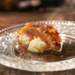 わさ - 焼きと生の金目鯛とご飯