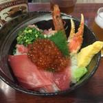 海鮮丼 大江戸 - 大江戸5点上丼
