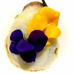60965553 - オマール海老と食用花