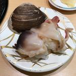 うまか亭 - 活ほっき375円(税別)