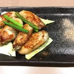 60970679 - 牡蠣の鉄板焼き(980円)
