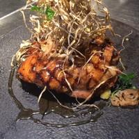 博多地鶏もも肉のソテー