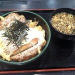 ゆで太郎 - ジャンボかつ丼(2016.10)