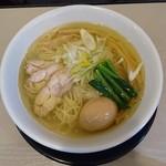 麺の風 祥気 - しおそば(730円)味玉クーポン