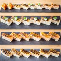 【KINKAの名物】 炙り押し寿司&KINKAロール