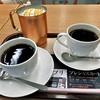 上島珈琲店 - ドリンク写真:アイス生キャラメルミルク珈琲(Mサイズ)& ネルドリップブレンドコーヒー(Mサイズ)