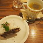 モダナークファームカフェ - ケーキセット