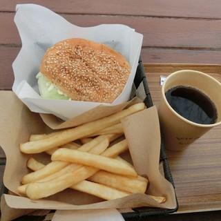 safsaf - 料理写真:Bセット(あとこれにミルクソフトが付きます)