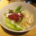 トリコカレー - セットのサラダ